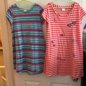 2 Girls Jersey dresses